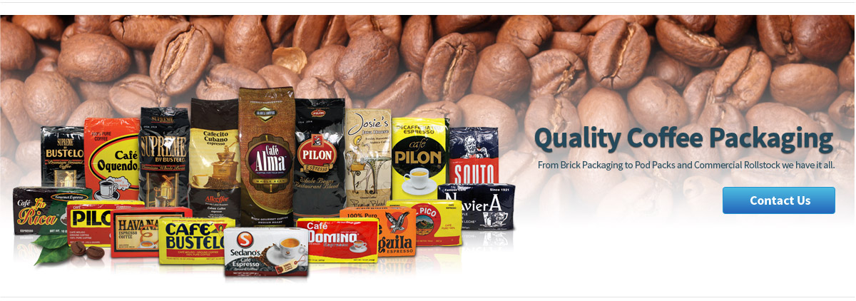coffee packaging manufacturing